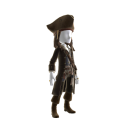 Costume du capitaine Jack Sparrow