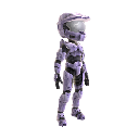 Halo Spartan Armor - Lavender