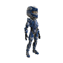 Warrior Armor - Blue 