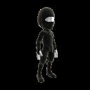 Tenue de ninja