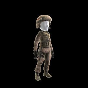 """Gewehrschützen-Outfit - """"Kirby"""""""