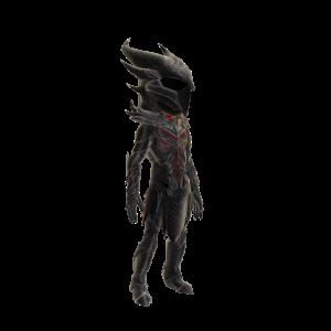Daedrische Skyrim-Rüstung