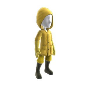 Rain Coat and Pants