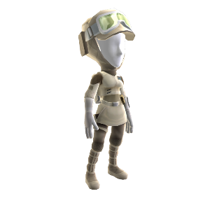 Rebel Soldier Hoth Uniform