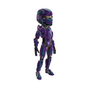 Warrior Armor - Purple