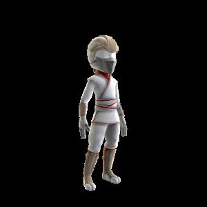 White Ninja Costume