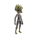 Crazy Zombie Avatar costume