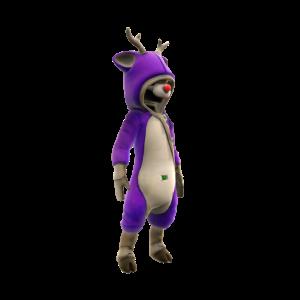Reindeer Onesie - Purple