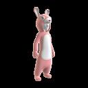 Pink Bunny Onesie