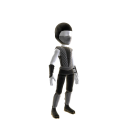 Retro Ninja Outfit - Grey