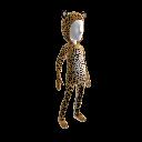 African Leopard Suit