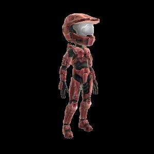 Halo Spartan Armor - Red