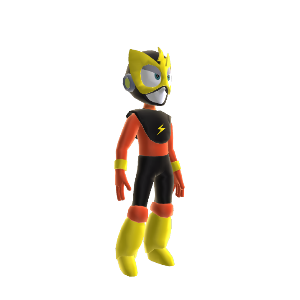 Elec Man Costume 