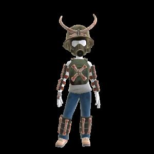 Armure squelette