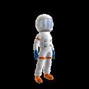 Roupa de astronauta do Itaú M