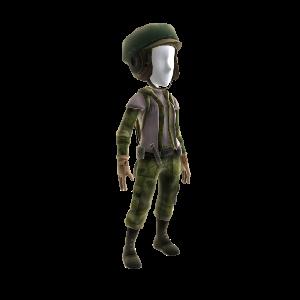 Uniforme de combate de soldado rebelde de Endor