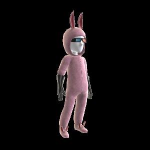 Quadwrangle Fluffy costume - Male
