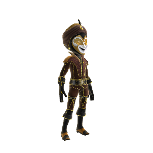Ottoman Jester Outfit