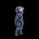 Halo Spartan Armor - Blue