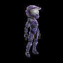 Halo Spartan Armor - Violet