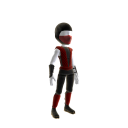 Retro Ninja Outfit - Red