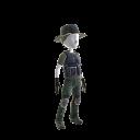 Crachà Preto Scharfschützen-Outfit
