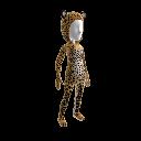"""Afrikanischer Leopard""-Anzug"