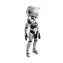 Halo Spartan Armor - White
