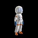 Roupa de astronauta do Itaú F
