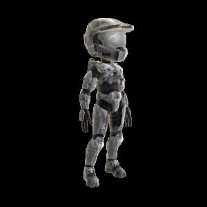Halo Spartan Armor - Steel