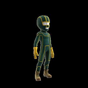 Kick-Ass Costume and Mask