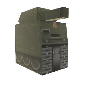 MGS Cardboard Tank