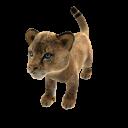 León africano (peluche)