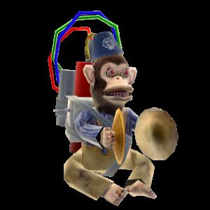 Monkey Bomb Prop