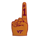 Virginia Tech Foam Finger