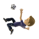 Freestyle Bicycle Kick