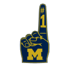 Michigan Foam Finger