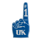 Kentucky Foam Finger