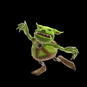 Wreckateer - Mascota de trasgo