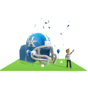 Kentucky Inflatable Helmet