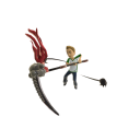 Toy Legendary Scythe - Red
