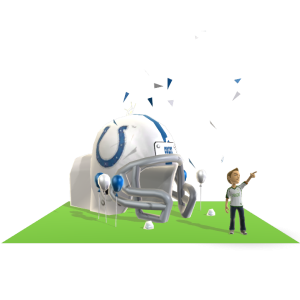 Colts Inflatable Helmet