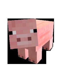 Minecraft Pet Pig