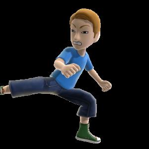 Spinning Back Kick