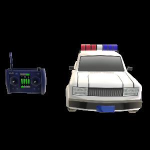 Control remoto coche policía