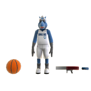 Champ (Mavericks) Mascot 