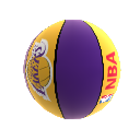 Basketball von LA Lakers