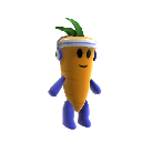 Plush Carrot Mascot 