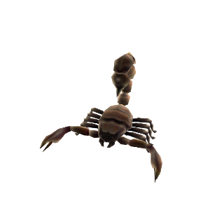 Scorpion Animated Pet