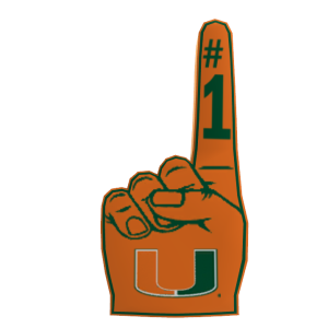 Miami Foam Finger